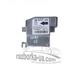 Блок управления AIR BAG Opel Corsa С 1.7DTi (2000-2006) 24439954 / 327963935 фото