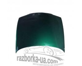 Капот передний Mazda 626 GF (1997-2002) купить запчасти, разборка, фото зеленый