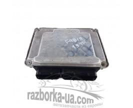 Блок управления двигателем Skoda Fabia 1.9 TDI (1999-2007) 038 906 019 NE, 0 281 011 824 фото