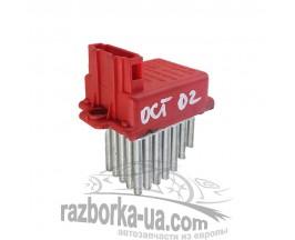 Резистор печки Skoda Octavia (1996-2010) 1J0 907 521, Valeo 657 364 M , Hella 5DS 006 467-01 фото