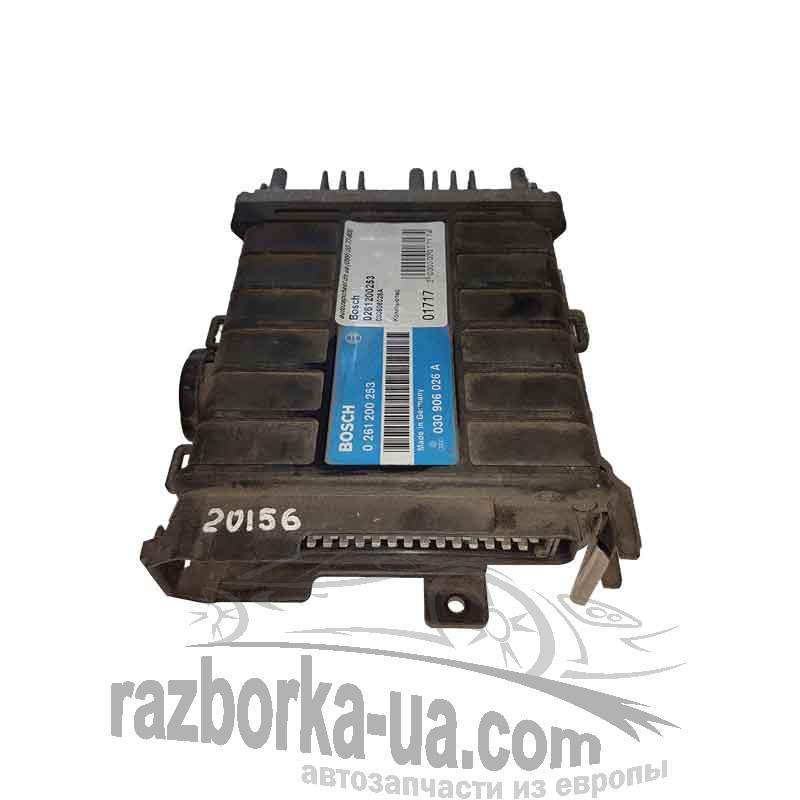 Купить ЭБУ двигателя бу Bosch 0 261 200 253 / VAG 030 906 026 A, фото разборка