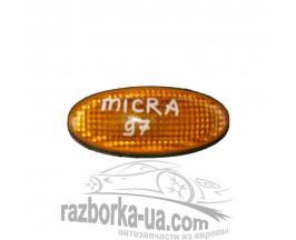 Повторитель указателя поворота в крыло Nissan Micra (1992-2003)