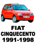 Разборка FIAT CINQUECENTO (1991-1998) - Запчасти БУ Купить в Украине