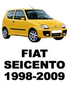 Разборка FIAT SEICENTO (1998-2009) - Запчасти БУ Купить в Украине