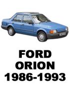 ᐉ Б/У Запчасти Разборка Ford Orion (Форд Орион) 1986-1993: Купить оригинальные автозапчасти БУ на авторазборке Razborka-UA в Укр