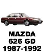 ᐉ Б/У Запчасти Разборка MAZDA 626 GD (Мазда 626 ГД) 1987-1992: Купить оригинальные автозапчасти БУ на авторазборке Razborka-UA в